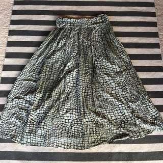Shakuhachi Maxi Skirt