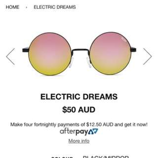 Authentic Quay Electric Dreams Sunglasses