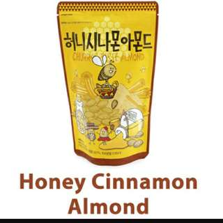 ☆Honey Cinnamon Almond 250g *in Stock 9 Sep