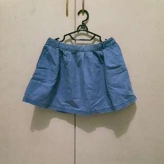 Skirt Denim Cool