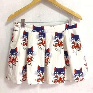 Cat Skirt Short