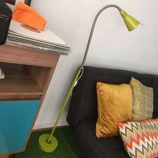 Cool Green floor lamp