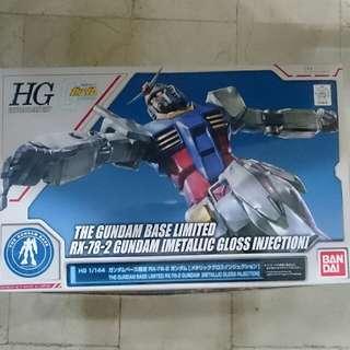 Bandai Gundam Base Limited HGUC 1/144 RX-78 Gundam
