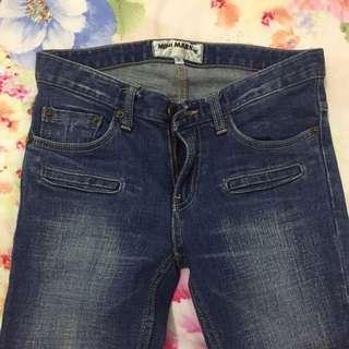 Blue Skinny Vintage Classic Jeans