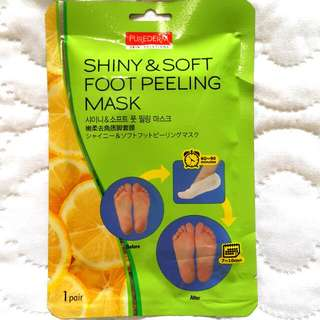Purederm Shiny and Soft Foot Mask