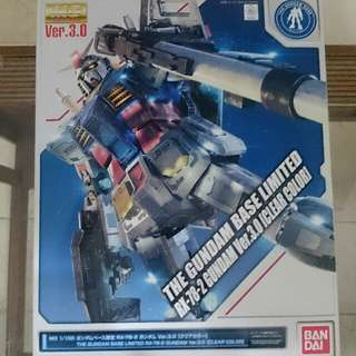 Bandai Gundam Base Limited MG 1/100 RX-78 Gundam ver 3.0 Clear Color ver.