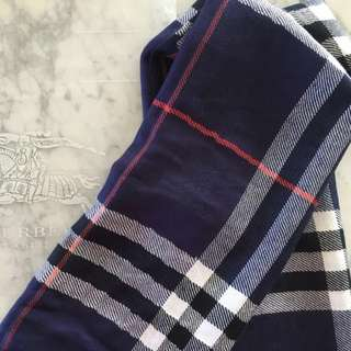 Burberry - Lightweight Check Wool Cashmere Scarf