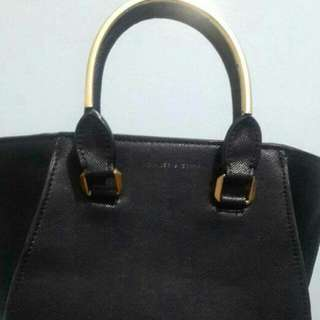 REPRICE Charles And Keith City Bag