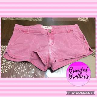 Hollister Faded Red Sexy Short