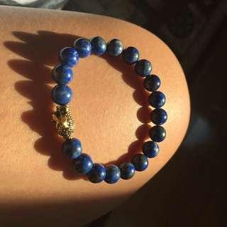 Lapis Lazuli, Buddha Bracelet