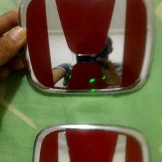 Honda Red Emblem (Original)