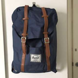 Herschel Navy Backpack