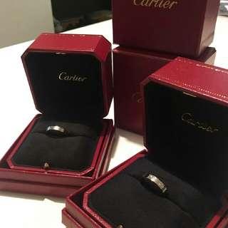🚚 Cartier LOVE 對戒兩只