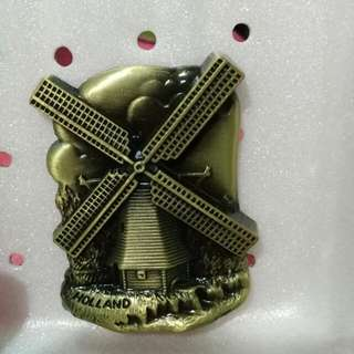 Holland Windmill Metal Ref Magnet Limited stock!!