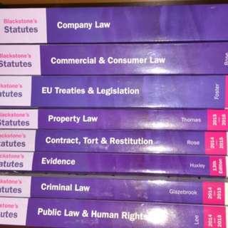 Blackstone Statute Books