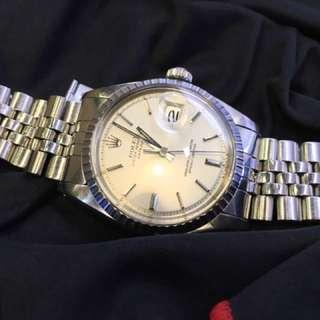 Rolex 1603 鋼王 Sigma