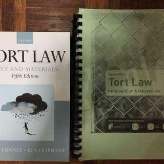 Tort Law Core Textbooks