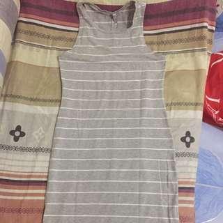 Cotton on long sleeveless dress