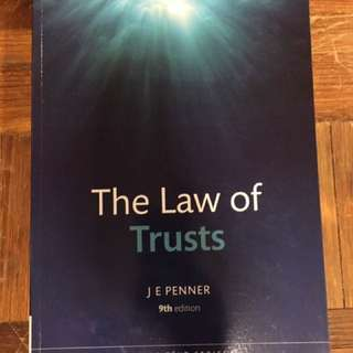 Law Of Trust Core Textbook