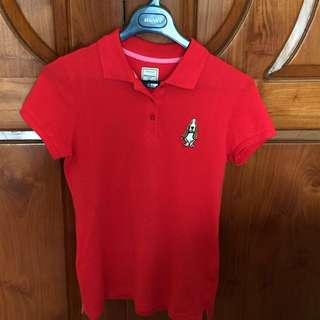Hush puppies polo shirt size M (ladies size)