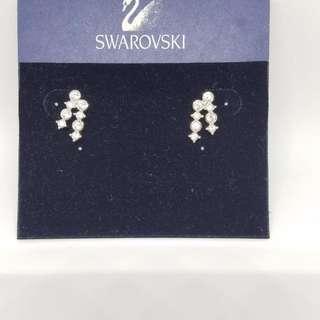Swarovski Earrings 水晶耳環  95%新