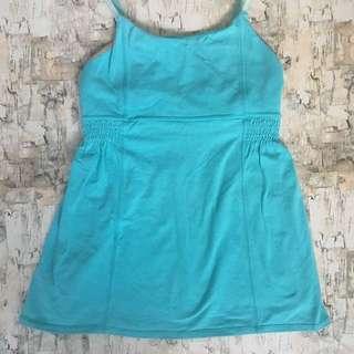 Ivivva By Lululemon blue Shirt Tank Top Size 12