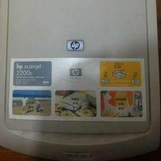 Hp Scanner 型號2200C 一部