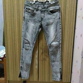Lee Acid Washed Pants