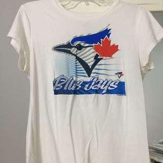 White Toronto Blue Jays Top