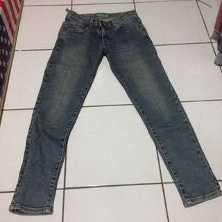 point one jeans size L