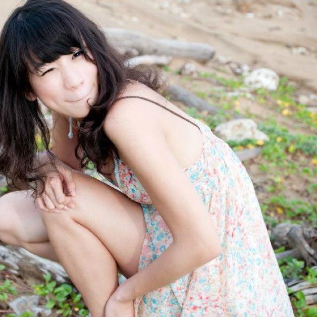 韓國小碎花洋裝(沙灘渡假洋裝)
