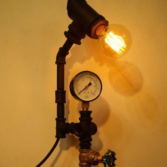 ✨工業風✨自製水管燈