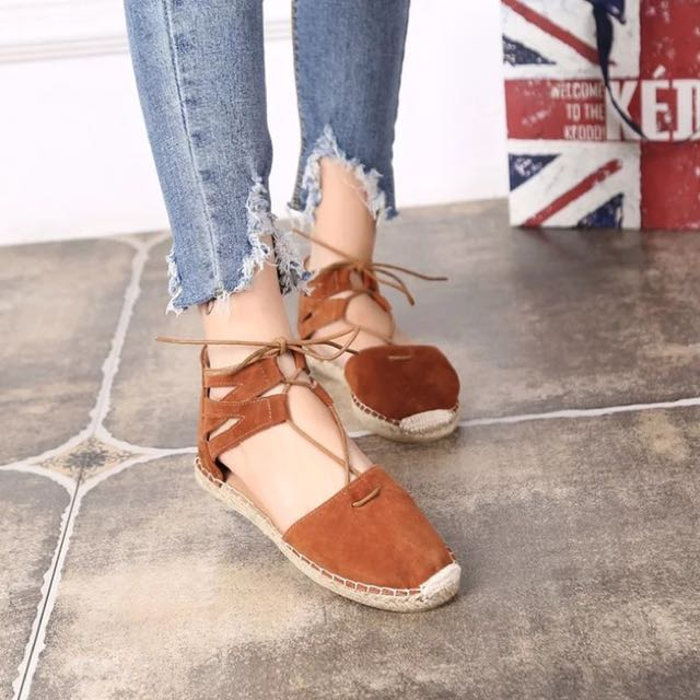 韓國 夏日編織鞋