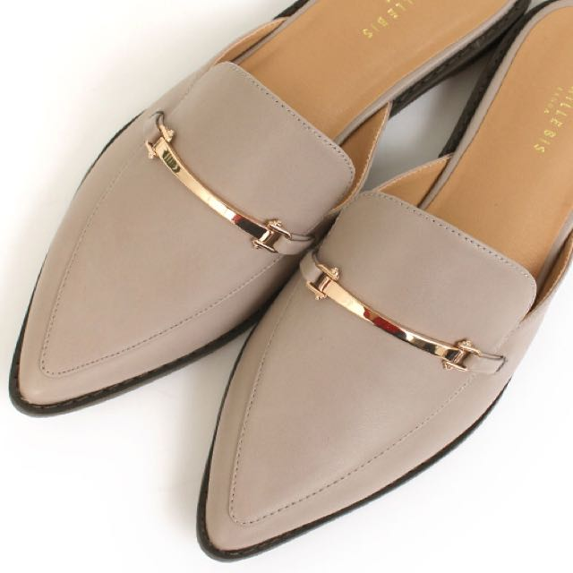 日本紳士簡約便鞋 全新 24.5號 CAMILLE BIS RANDA