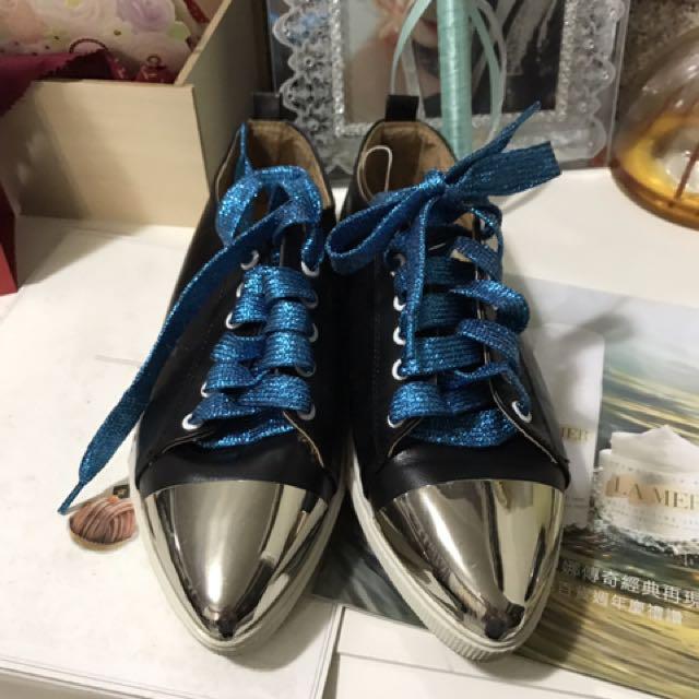 免運 時尚平底鞋 36.5號 只穿過2次