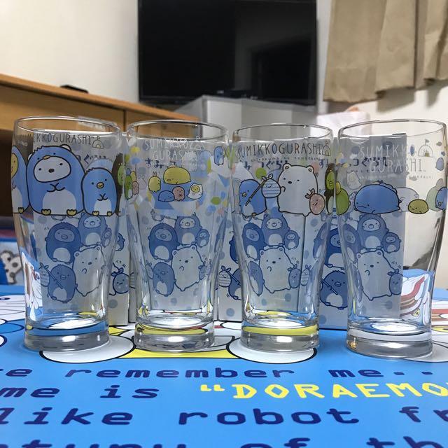 日本 角落生物 玻璃杯