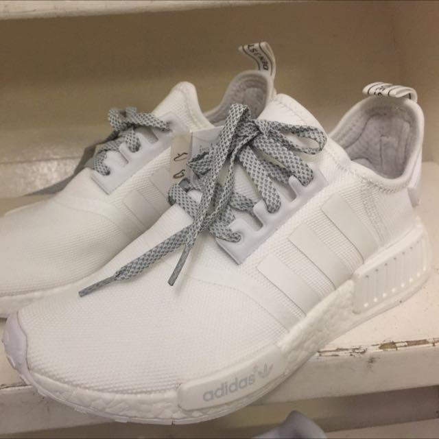92574eafdfd7 Adidas NMD R1 All-White (100% Original)