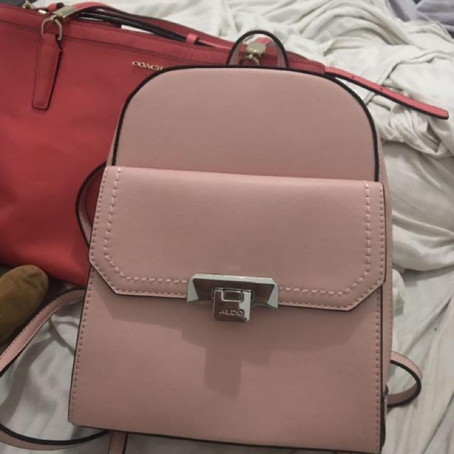Aldo Mini Backpack in Blush