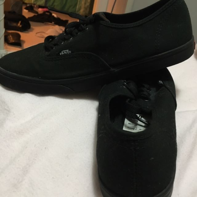 All Black Women's Vans