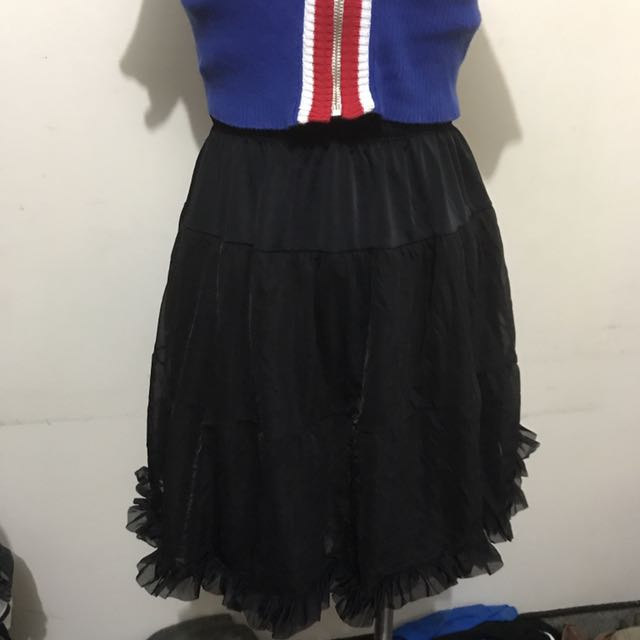American Apparel Dead stock Petticoat Skirt
