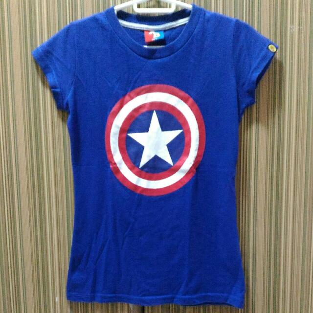 American Boulevard Captain America Shirt