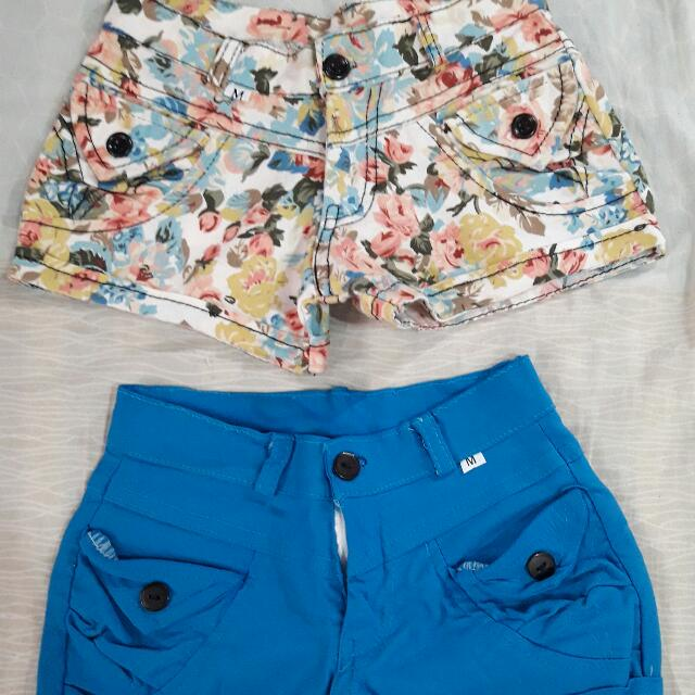 Assorted Shorts Size Medium  80.oo Each