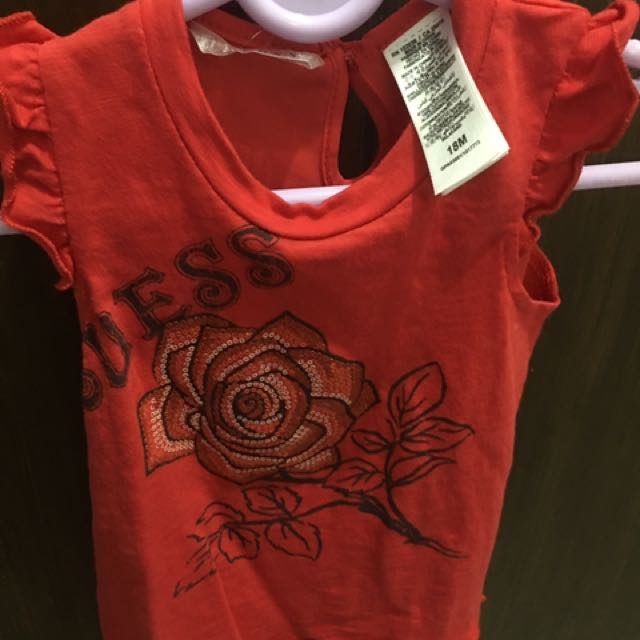 Authentic Baby Guess Sleeveless