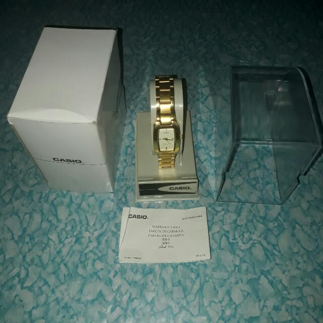 Authentic Casio Watch For Woman