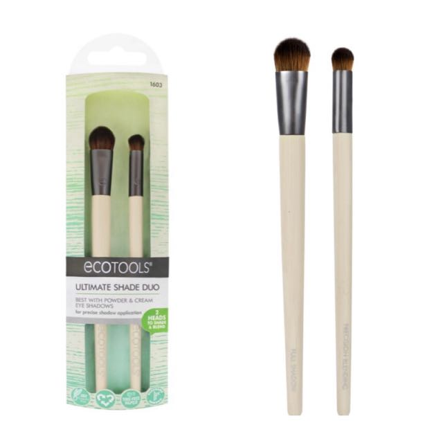 Authentic EcoTools, Ultimate Shade Duo, 2 Brushe