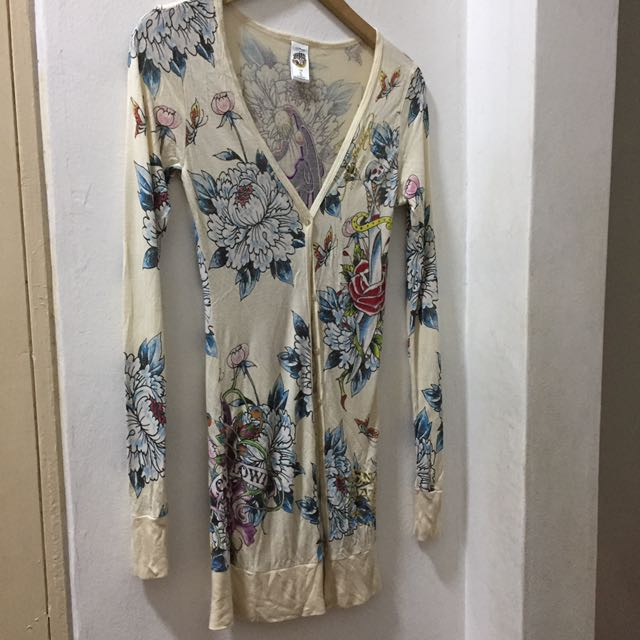 Authentic Ed Hardy Cardigan S & M