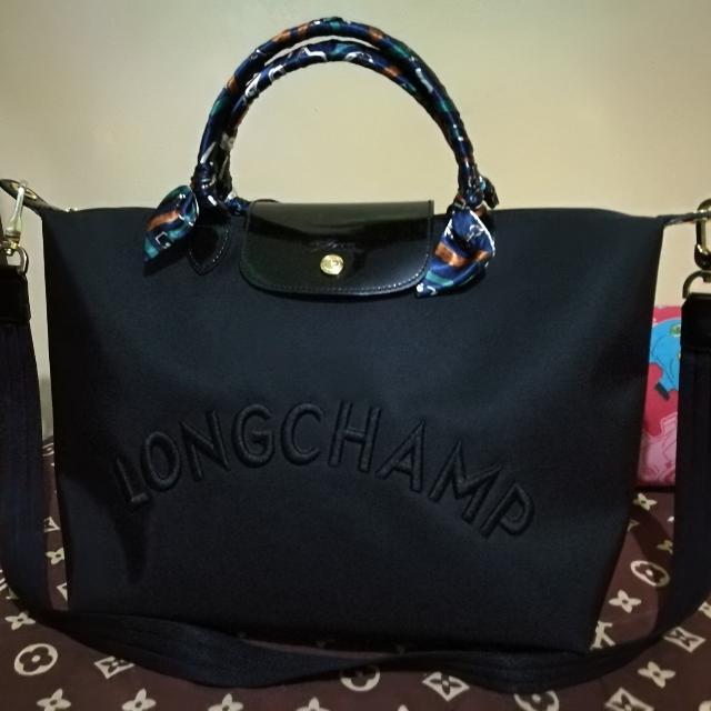 Authentic Longchamp Medium Size