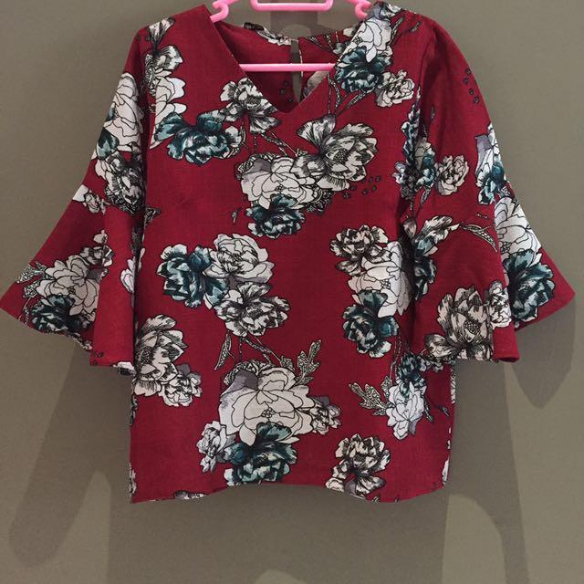 Baju fashion red