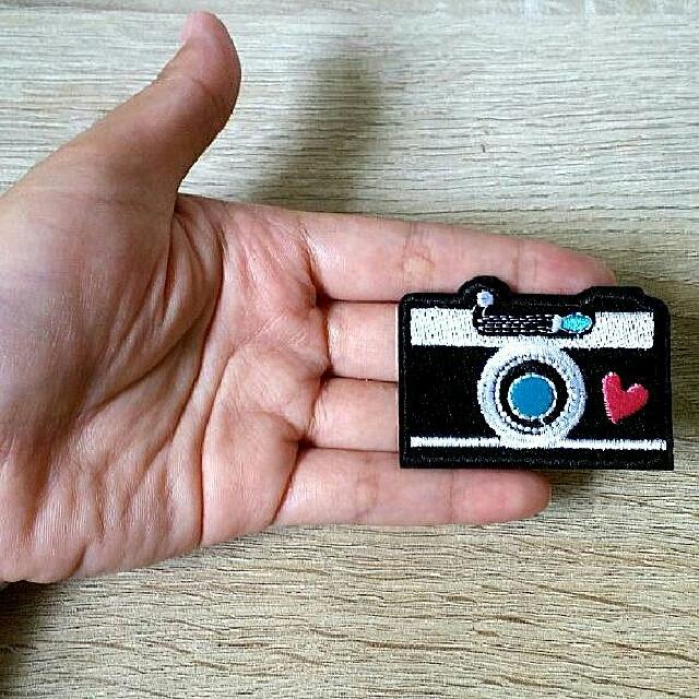Black Camera Patch