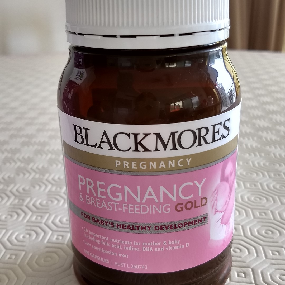 Blackmores Pregnancy And Breastfeeding Gold 180 Capsules Daftar Breast Feeding